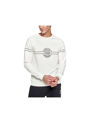 Hummel Erkek Sweatshirt Herkul 921036-9973 Beyaz